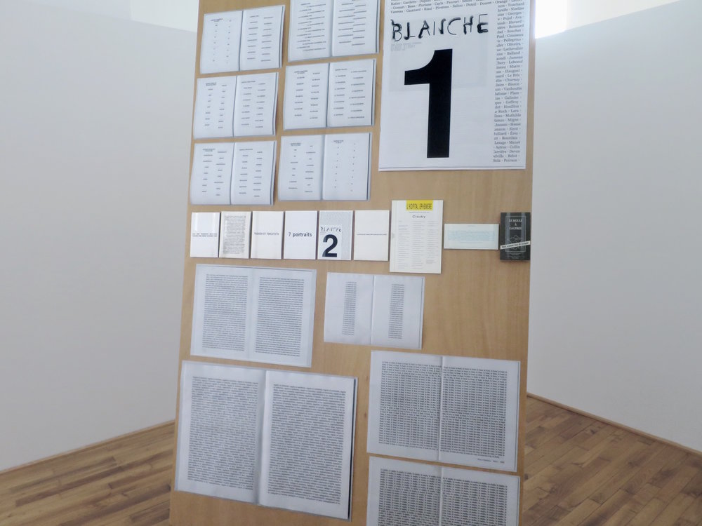 Claude Closky, 'ILUO,' Centre des livres d'artistes (CDLA), Saint-Yrieix-la-Perche. 23 June - 16 September 2017. Curated by Christian Lebrat, Didier Mathieu. Salle 1 entrée.jpg