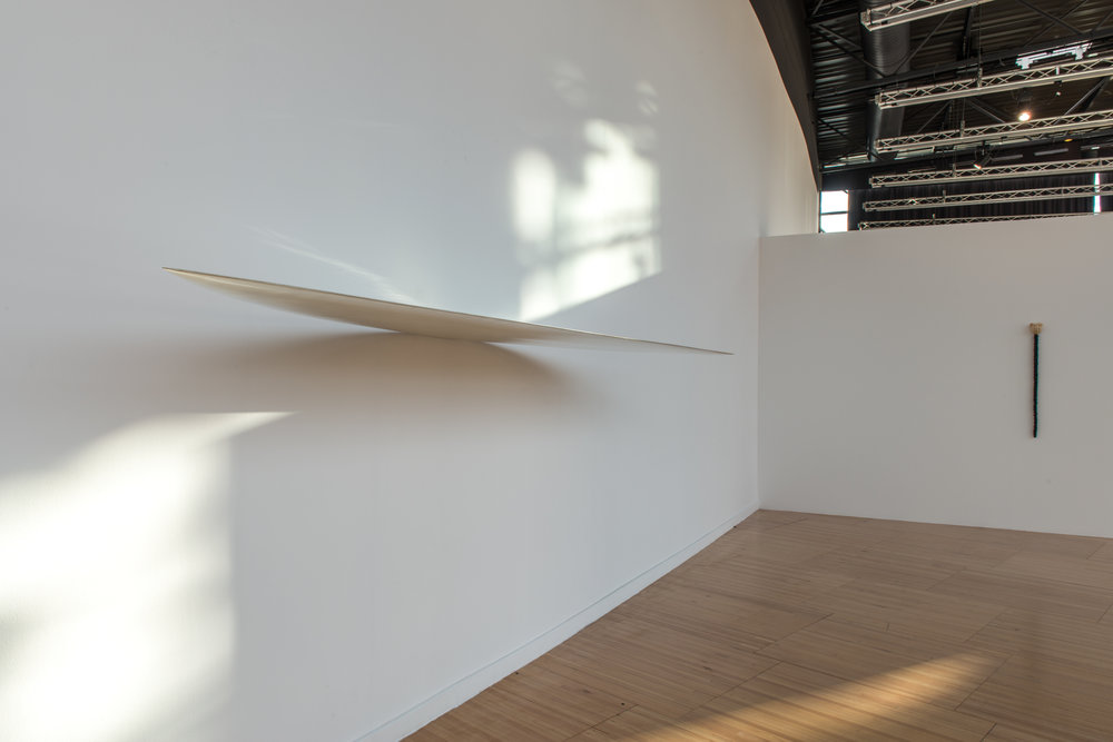 Vue d'exposition: Phénomènes, exposition de groupe avec Marc Couturier, Frac Alsace, Sélestat, 2018 © K. Stöber