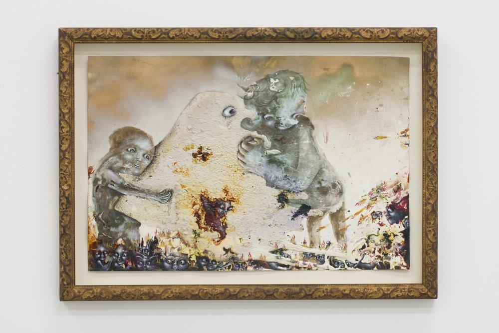 Marlène Mocquet, De l'eau je veux le feu, 2016