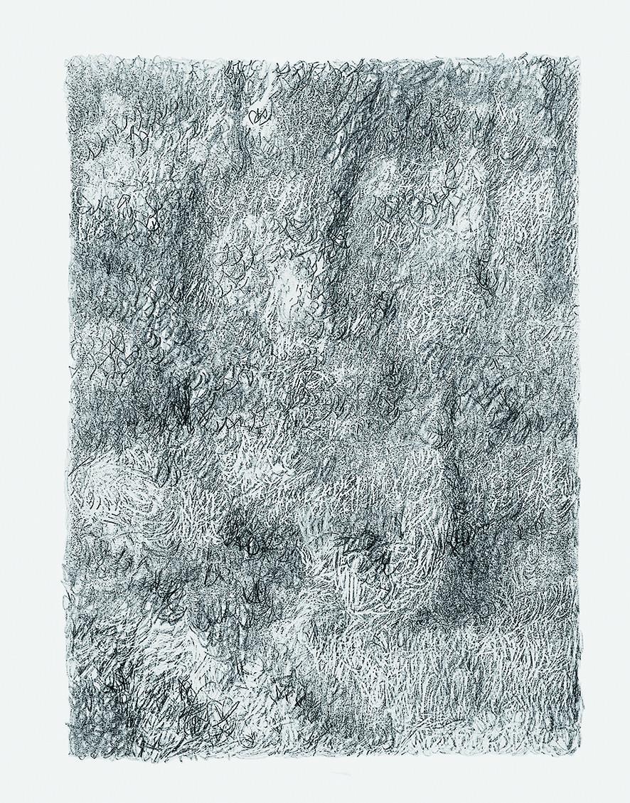 Marc Couturier, Les dessins du troisième jour, 1991-92, collection Fondation Cartier