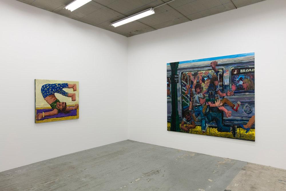 TODD BIENVENU   Jaywalk  23.06.2018 - 23.09.2018 In collaboration with gallery  Sébastien Bertrand , Geneva