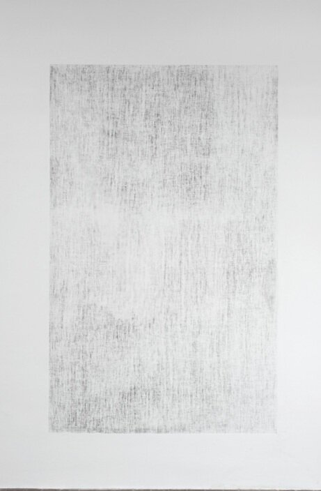 Paul Czerlitzki Untitled, 2013. Acrylic on wall, variable dimensions