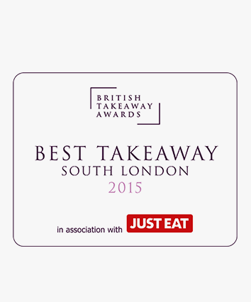 Best Takeaway in South London Award
