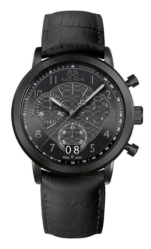 Double 8 Origin - 45 MM Quartz Chronograph A more classic and sober version of ENCOUNTER.