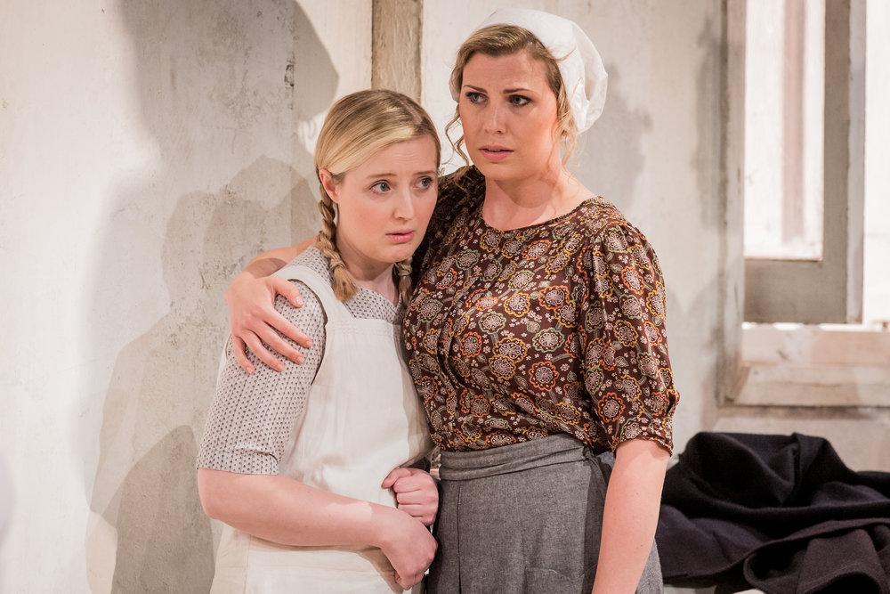 Jana in  Jenufa  by Janacek, with Barena played by Alexandra Lowe (Grange Park Opera 2017)