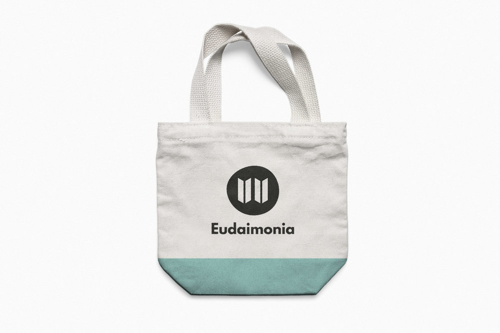 Eudaimonia Branding Mockup Bag
