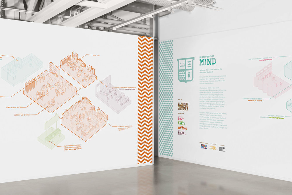 Learning Without Borders Exhibition Displays