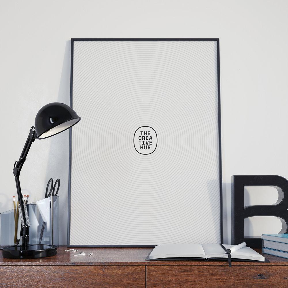 Bureau Bureau - Creative Hub Poster