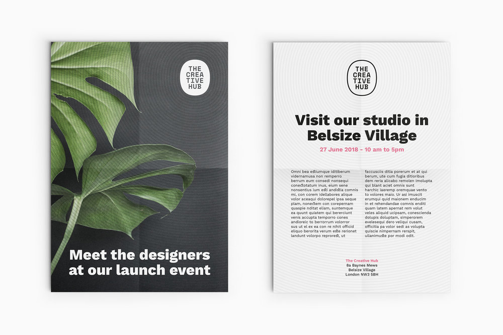 Creative Hub Posters - Bureau Bureau