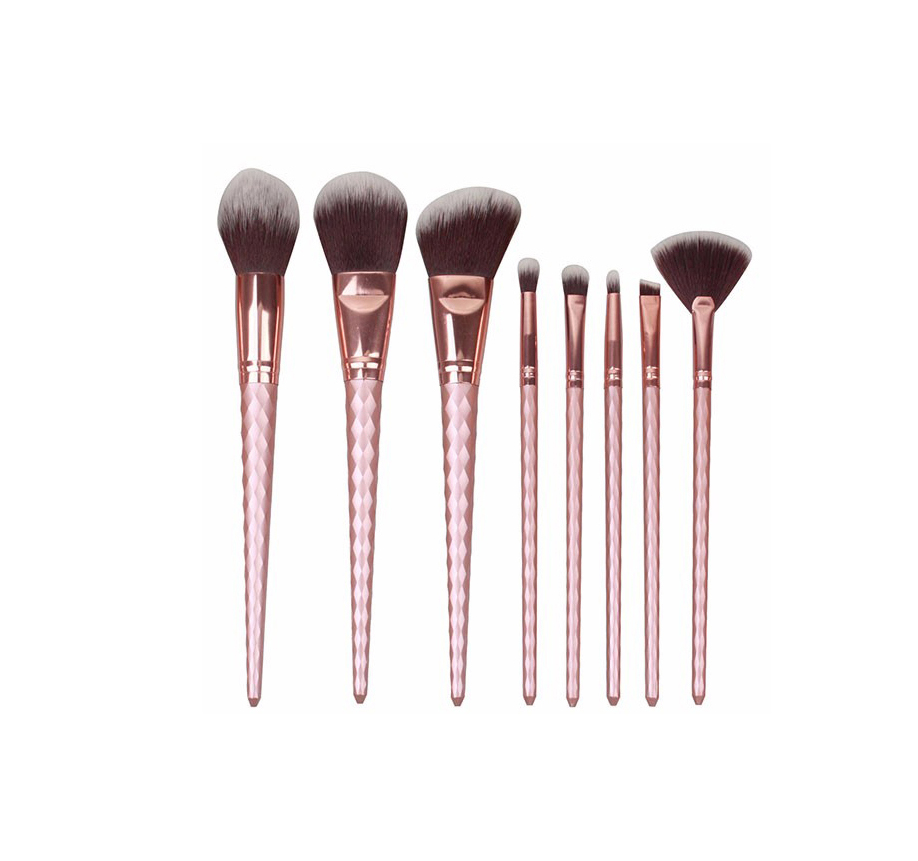 MAKEUP BRUSH SET PINK/ROSÉ