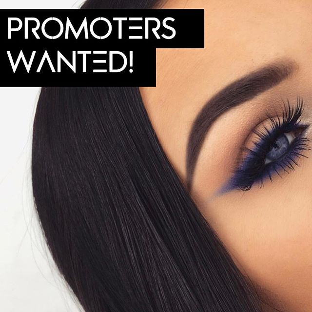 We are looking for promoters! 💗 Do you like our products and do you have a great Instagram account with many followers? Repost 1 of our pictures and tag us + follow us! We will contact those who suits our brand best 😍 📸 by Talented @emmacervin wearing our Miss Sophie lashes!