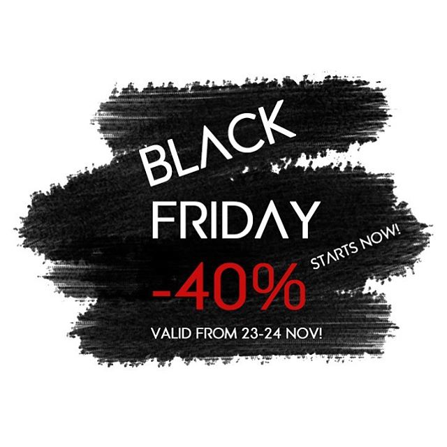🖤BLACK FRIDAY STARTS NOW!🖤-40% off on all items 😱 Valid 23-24 Nov. Shop before everything's gone! ❌ Visit our store - Link in bio!