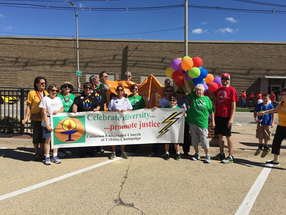 CU Pride Parade 2016- after the parade photo op
