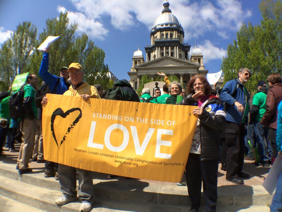 Higher Ground Moral Declaration Day at State Capitol
