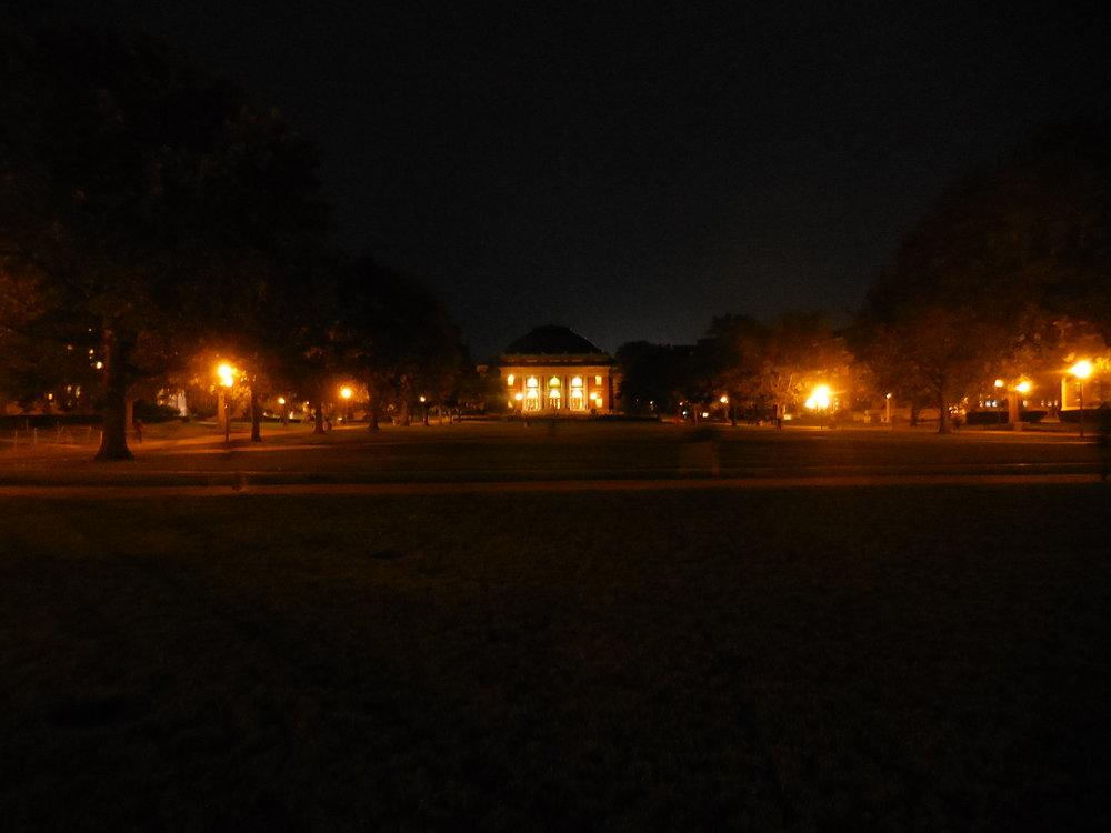 Copy of UI Quad at night.JPG