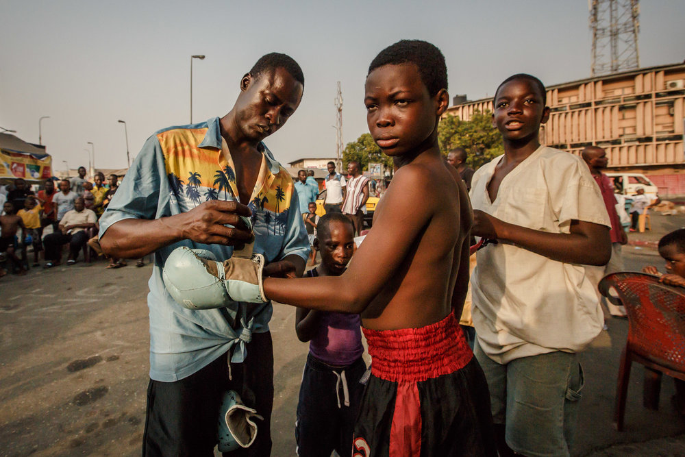BUKOM STREET BOXING - GHANA