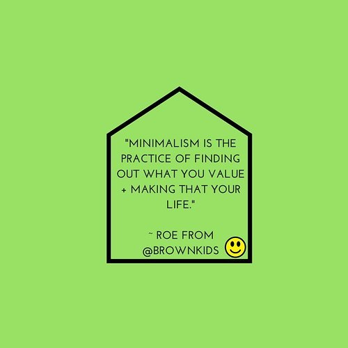 "Have you listened to the latest episode of the @blkminimalists podcast? Roe from @brownkids shares her knowledge of how to make your space an oasis + how #minimalism has NOTHING to do with poverty. ... Honestly, we for one, can't understand how folks think that minimalism=poverty.  Think about what poverty means. According to your girl, Merriam-Webster (which I think is the best name for a drag queen btw...been watching reruns of RuPaul's show lol) ..... Ok tangent over. Definition of Poverty: ""the state of one who lacks a usual or socially acceptable amount of money or material possessions."" ... If you have are getting rid things that are in excess, decluttering items that no longer serve any value to you...that's not poverty... it's privilege. ... Thoughts?"