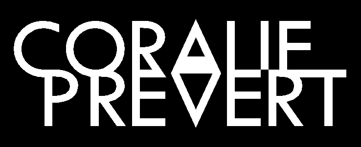 logo triangle coralie prevert
