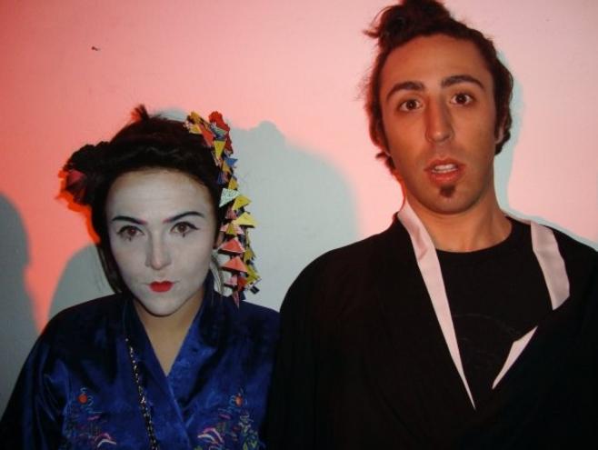 Geisha et Samuraï, Milan, mars 2009.