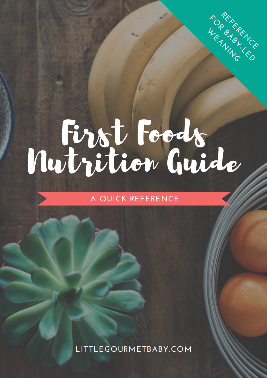 First Foods Nutrition Guide: Everything you need to know about vitamins and nutrients for babies over 6 months old