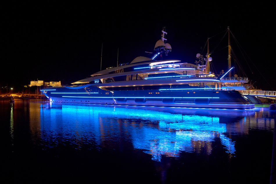 Superyacht project u the foreign office lighting design