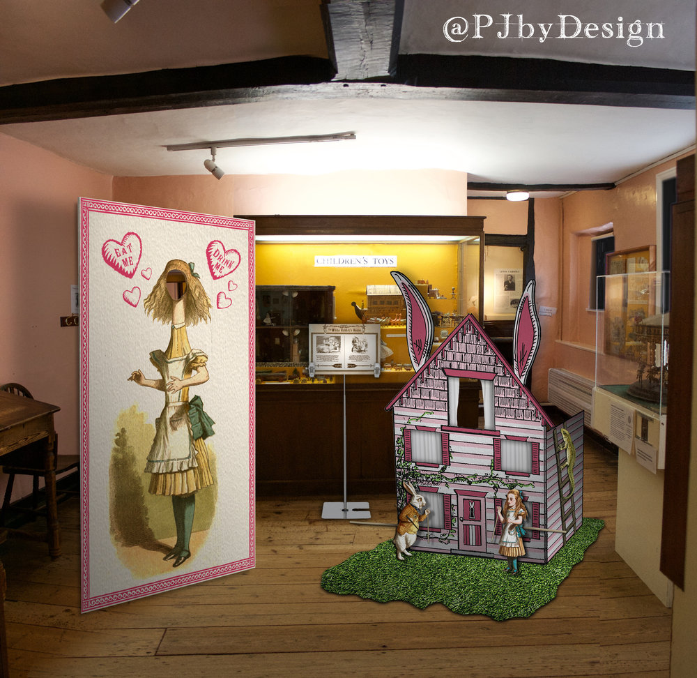 12 White Rabbits House Set.jpg