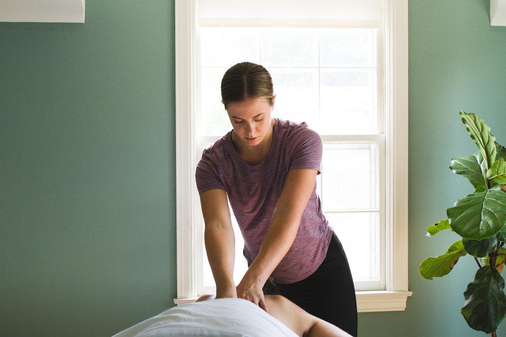 Working Portrait Massage