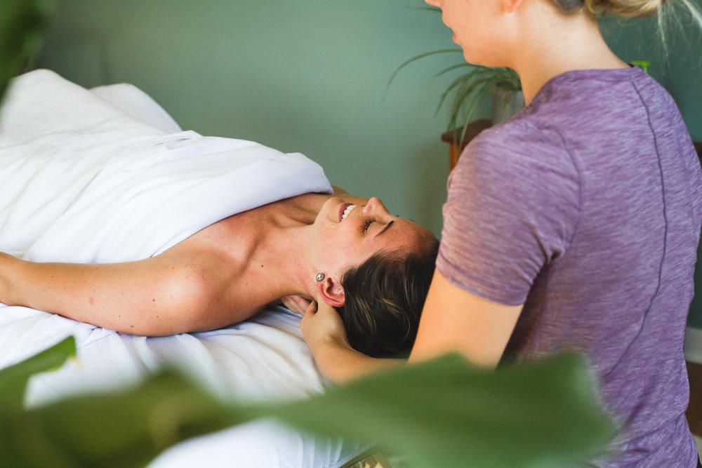 Working Portrait Centered Massage