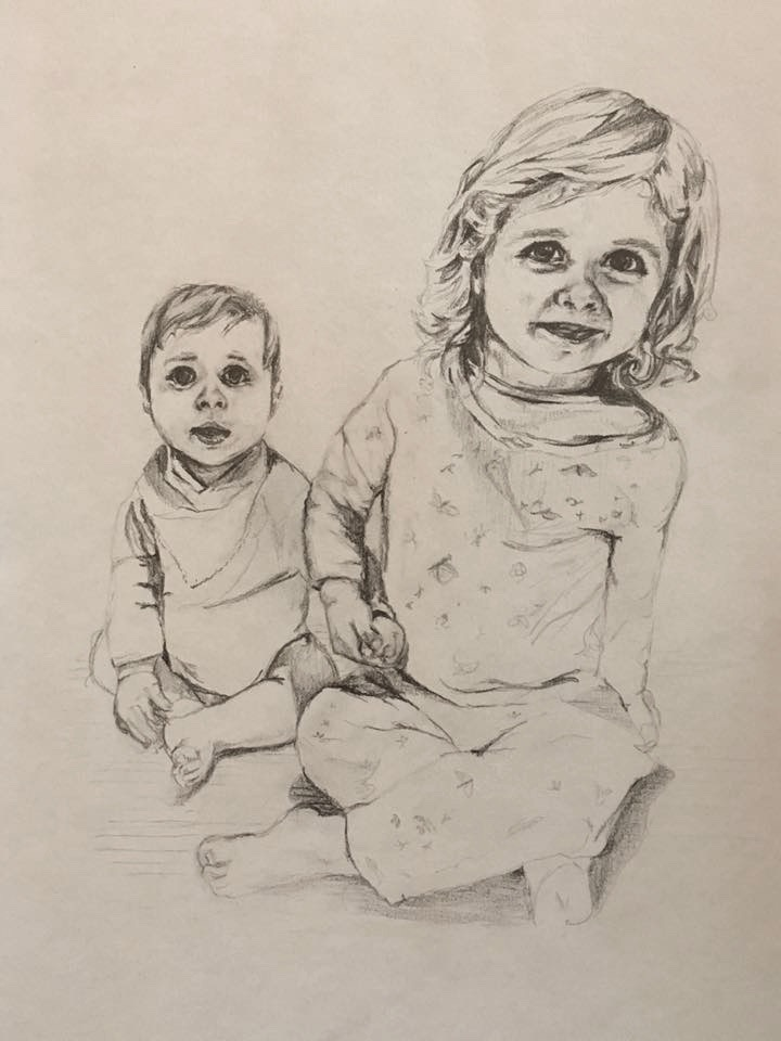 Annie-Abbatt-Pencil-Portrait-Drawing-Children-Pia-Edward