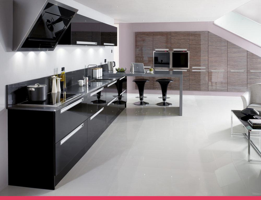 Trend Gloss Black U0026 Gloss Zebrano (Price Group 3)