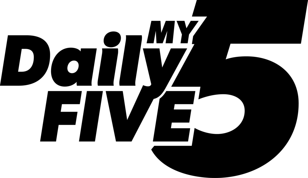 My Daily Five Black Logo.png