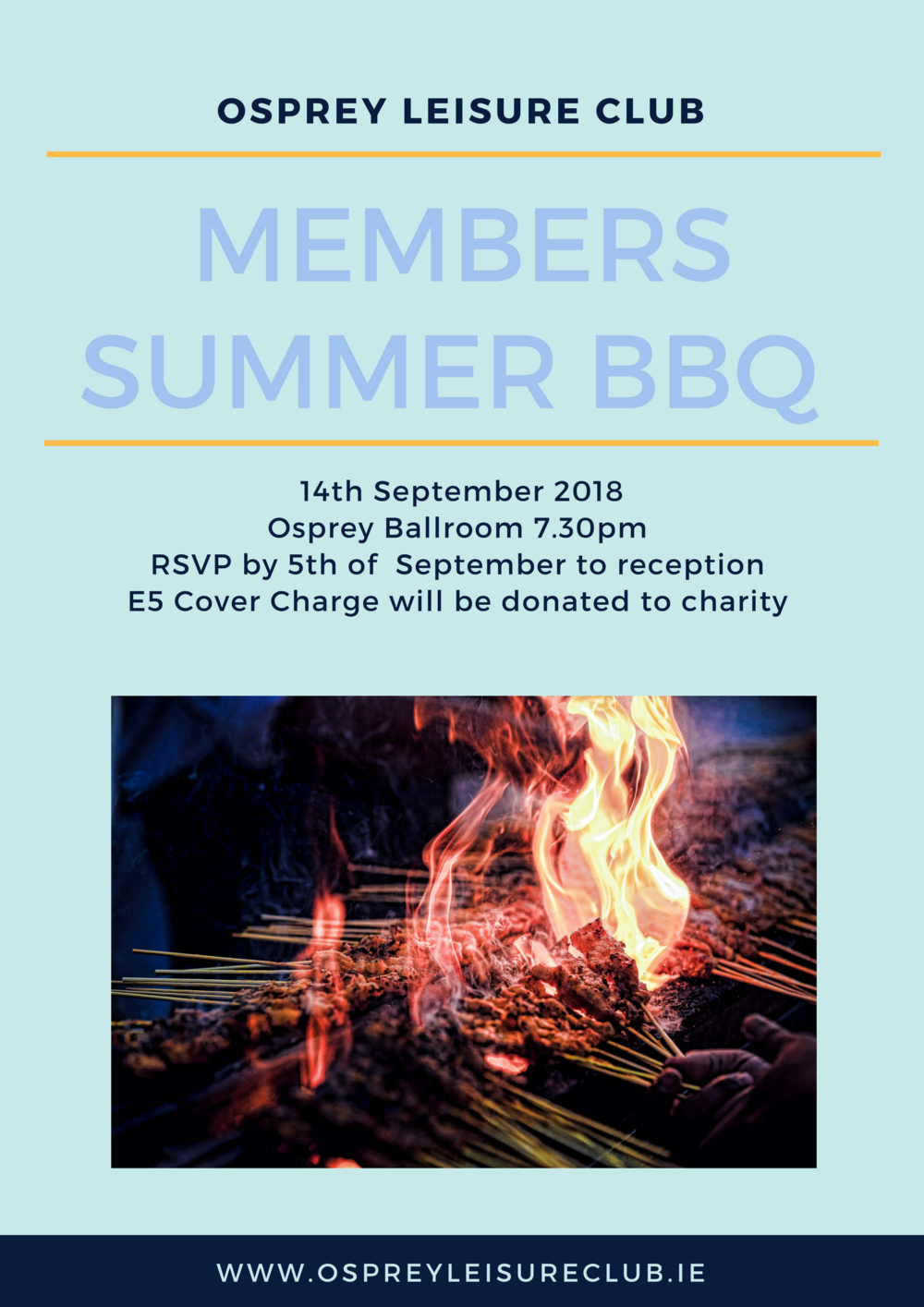 Osprey Leisure Club Summer BBQ