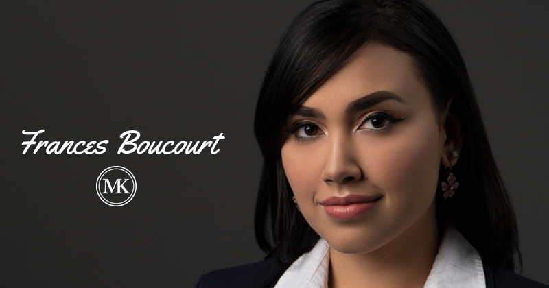 Frances Boucourt, Legal Assistant