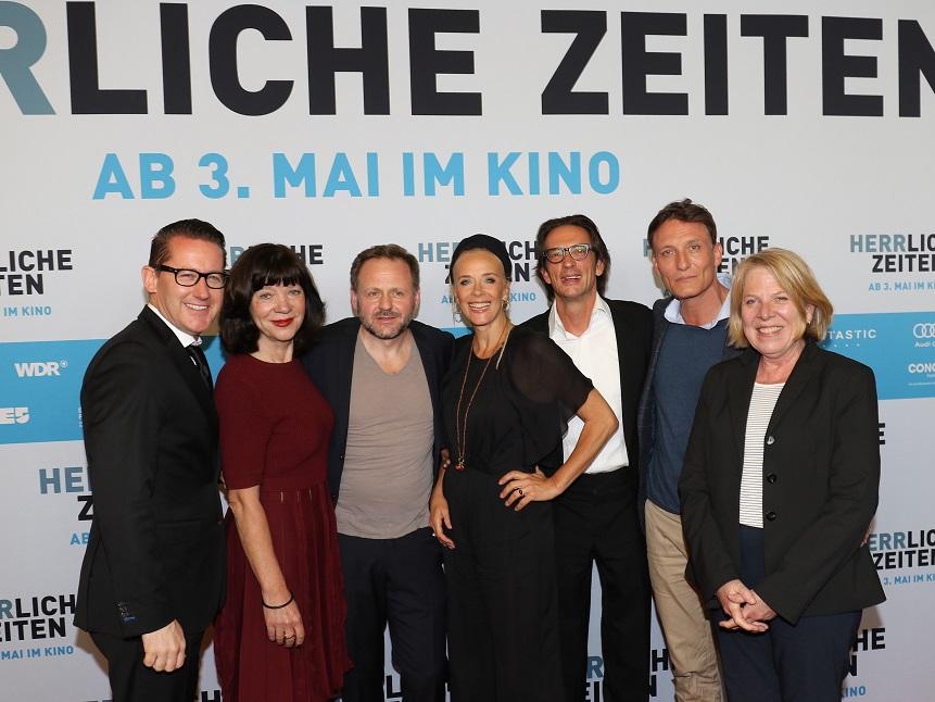Premiere für HERRliche Zeiten im Kino International in Berlin