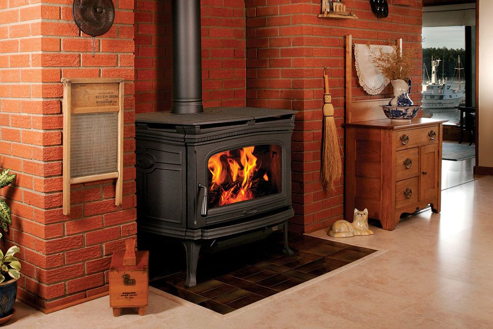 Pacific Energy Alderlea T6 - non-catalytic wood stove - 99,000 peak btu/hr