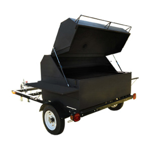 Green Mountain Grills - Big Pig trailer rig - mobile pellet grill