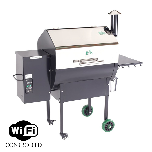 Green Mountain Grills - Daniel Boone - stainless steel - WiFi - pellet grill