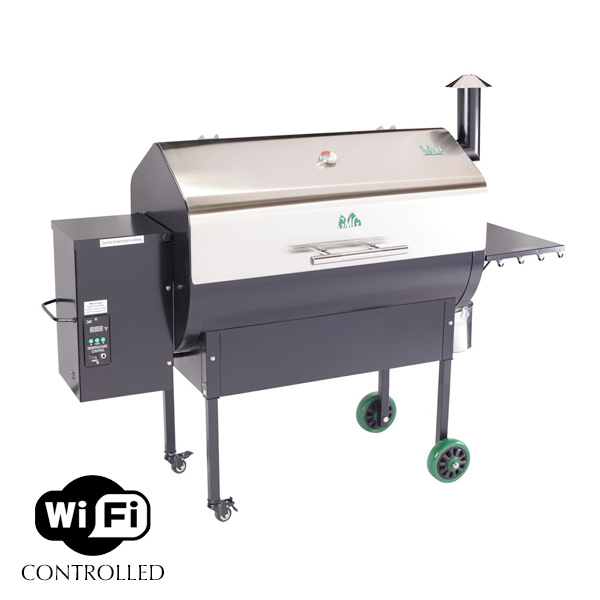 Green Mountain Grills - Jim Bowie - stainless steel - WiFi - pellet grill