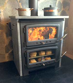Vermont Bun Baker XL 850 - wood cookstove