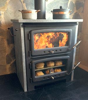 Vermont Bun Baker XL 850 - wood cookstove