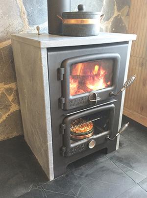 Vermont Bun Baker 650 - wood cookstove