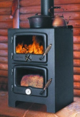 Vermont Bun Baker - wood cookstove