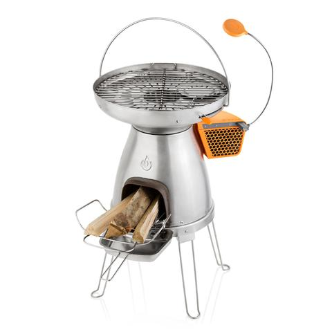 BioLite BaseCamp - wood camp stove - TEG powered USB port