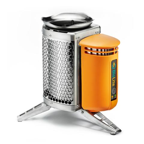 BioLite - CampStove - twig stove - TEG powered USB port