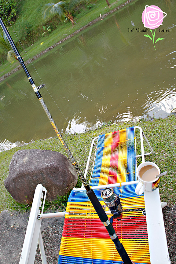 Fishing with own or rented rods
