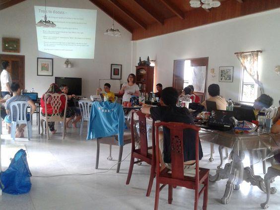 Indoor presentations in Tudor Bungalow