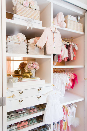 Visit Project Nursery For A Full Run Down Of The Space And Check Out My Expert Tips When Organizing Closet Keep Watching Million Dollar