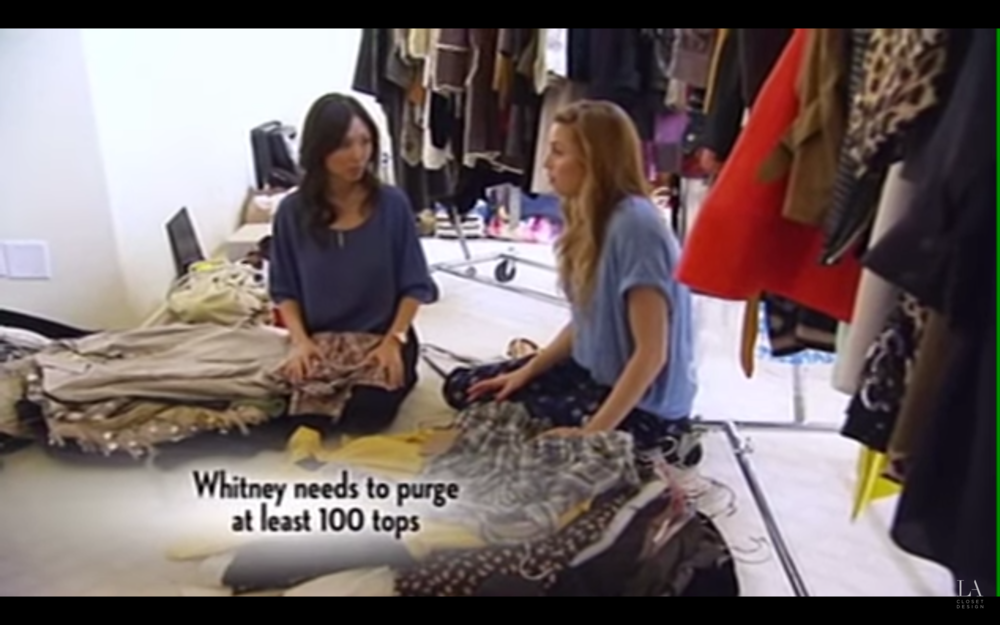 See Whitney Port's closet purge on  Million Dollar Closets!