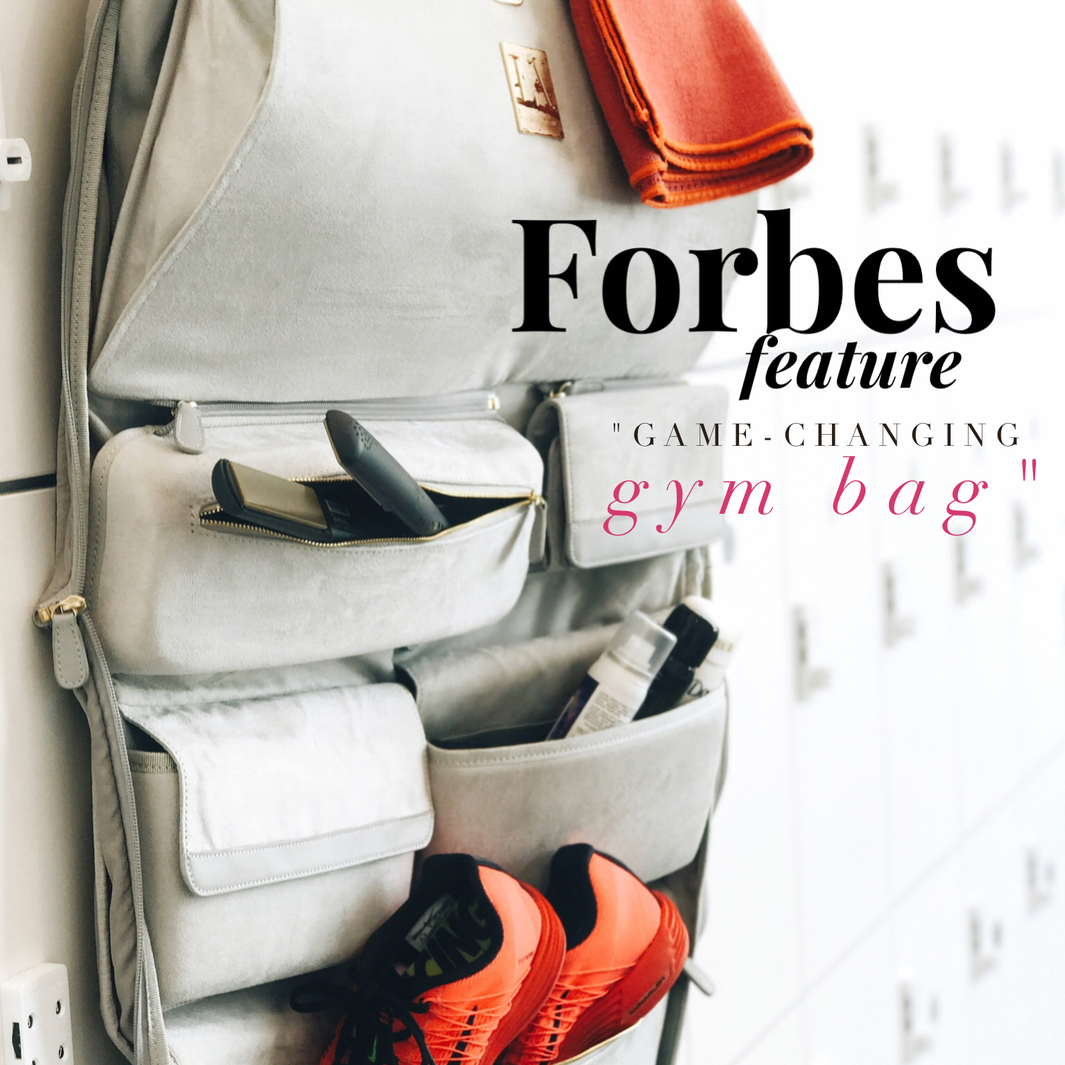LA MOVE GYM BAG - Forbes - July 2017