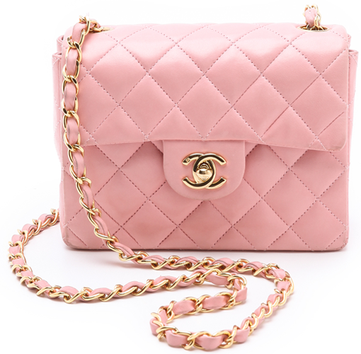 CHANEL Soft Pink Mini